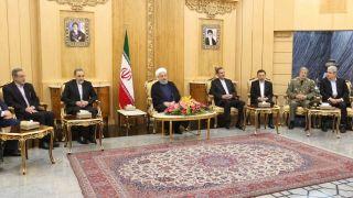 روحانی: انتقال سفارت آمریکا به قدس بر خلاف قوانین و مقررات بین المللی است/ نباید بگذاریم جنایت صهیونیستها عادی و حضور نامشروع آنها، مشروع جلوه کند