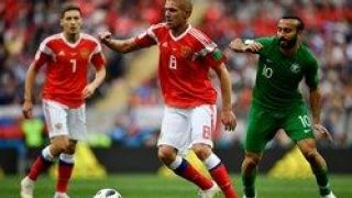 پیروزی قاطع روسها مقابل عربستان/سعودیها بازهم زنگ تفریح جام جهانی