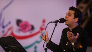 اولین کنسرت خیابانی با خوتنندگی محمد معتمدی برگزار شد