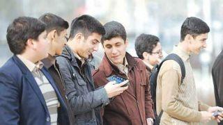 ۹۷ درصد نوجوانان موبایل دارند