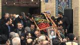 پیکر محمد توکلی فرزند احمد توکلی تشییع شد+تصاویر
