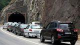 آغاز سفرهای نوروزی/ ترافیک نیمه سنگین در خروجی های تهران